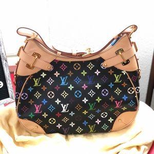 ✨Like new ✨Lv multi color hobo bag 🥰🥰🥰